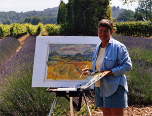 margaret painting in france